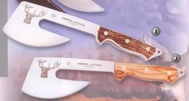 Охотничий топор, предлагаемый американскими ножевыми компаниями.