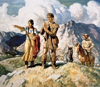 Expedición de Lewis y Clark con carabina de aire