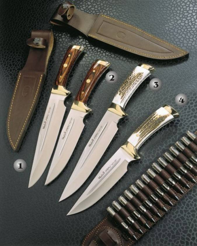 Cuchillos de monte Muela