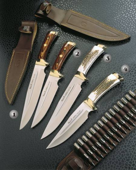 JABALI KNIFE 21R, JABALI KNIFE 17R, JABALI KNIFE 21A AND JABALI KNIFE 17A