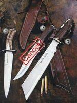BEAR, IMPALA AND SHERPA KNIVES
