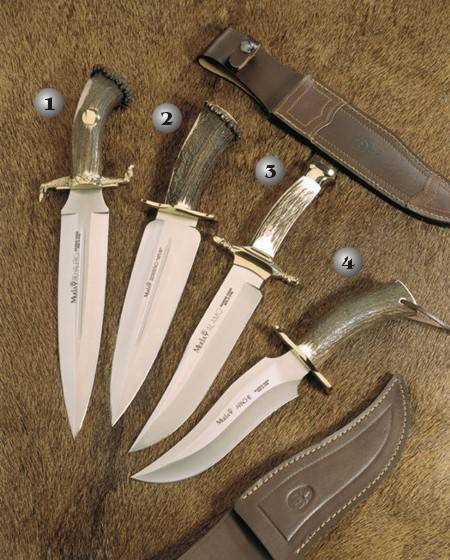 KNIFE REHALERO, KNIFE SERREÑO S, KNIFE ALAMO AND KNIFE APACHE