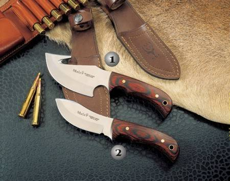 GRIZZLY 12R KNIFE AND SIOUX-10R