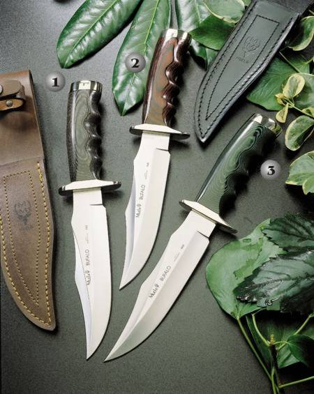 BUFALO-17M KNIFE, BUFALO-17R KNIFE AND BUFALO 17G KNIFE