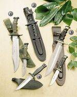 7222-P KNIFE, 7221-P KNIFE, 7220-P KNIFE AND MK-12 KNIFE