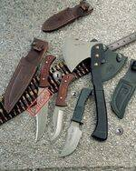 BISONTE-11R KNIFE, SG-12 KNIFE AND HA-W KNIFE