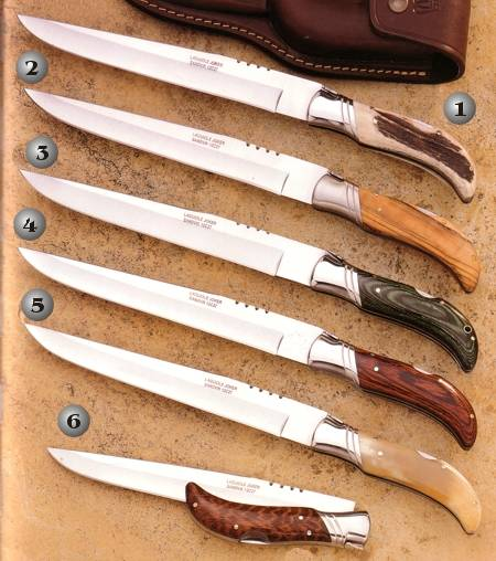 KNIVES CC09, KNIFE CO09, KNIFE CV09, KNIFE CR09, KNIFE CA09 AND KNIFE CT09