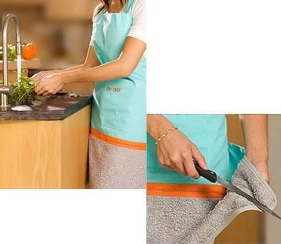 Limpieza de cuchillos de cocina