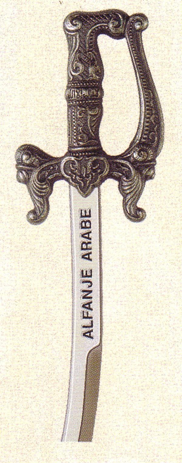 Mini espada Alfanje