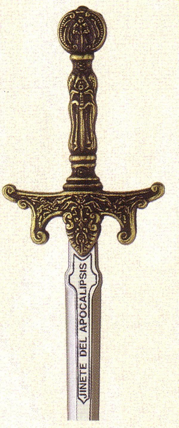 Mini espada Apocalipsis