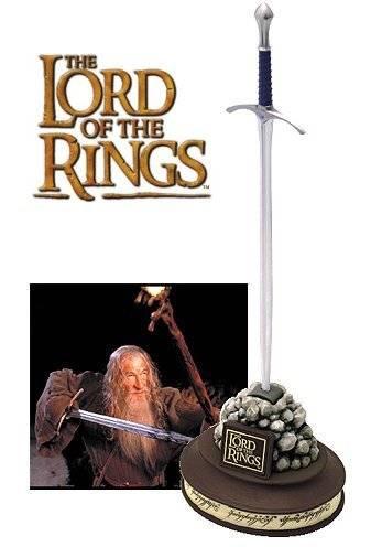 Miniatura de la espada Glamding de 'El Señor de los Anillos', puede utilizarse como abrecartas