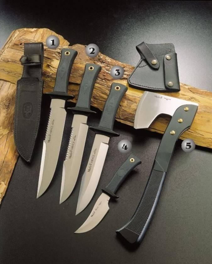 Cuchillos Mirage y Ha s muela