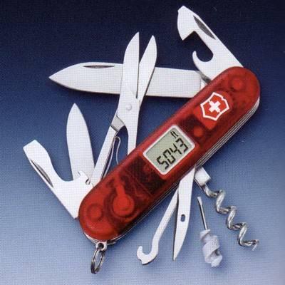 Navajas del ejercito suizo fabricadas por Victorinox. Conocidas mundialmente como Swiss army knife.