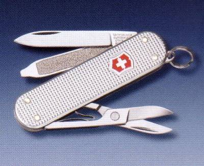 Navaja multiusos Victorinox. Swiss army knife.