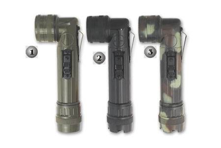 Linternas militares en 3 colores