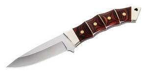 Cuchillo Bamboo Wood Hunter herbertz