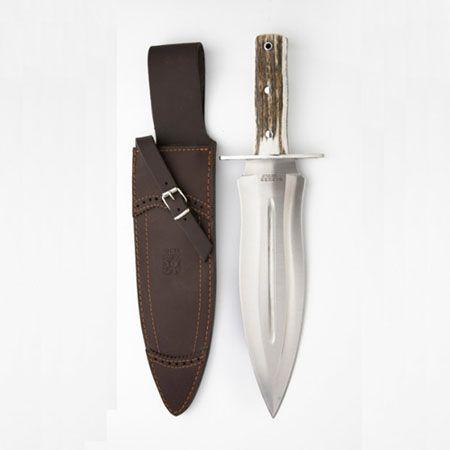 Cuchillo de caza Joker CC44 con pu�o de asta de ciervo.