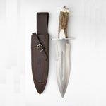 Cuchillo Joker CC42 para caza mayor. Cuchillos de remate Joker serie León.