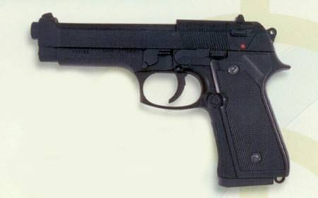 PISTOLA AIRSOFT PESADA. CAL 6 MM