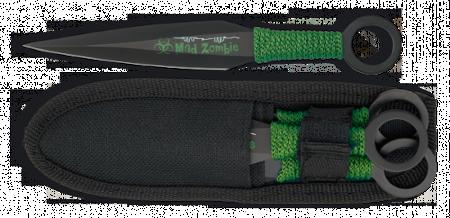 Cuchillos lanzadores Mad Zombie 31979
