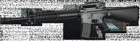 Fusil eléctrico M16 R.I.S airsoft 35934