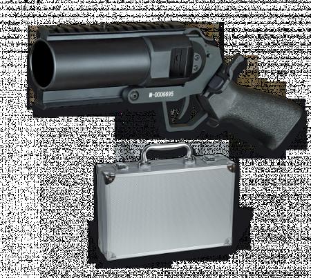 Pistola lanzadera Airsoft de 40mm
