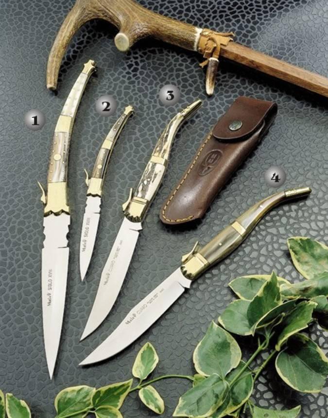 Muela pocket knives