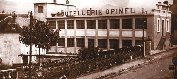 fabrica Opinel nueva tras el desastre