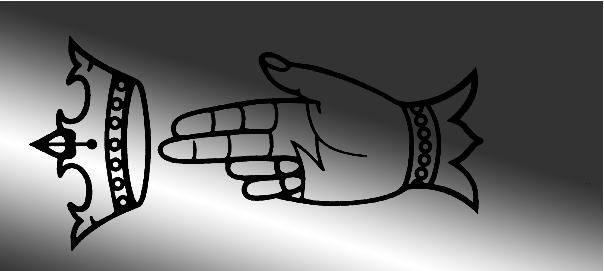 Emblema de opinel crow hand