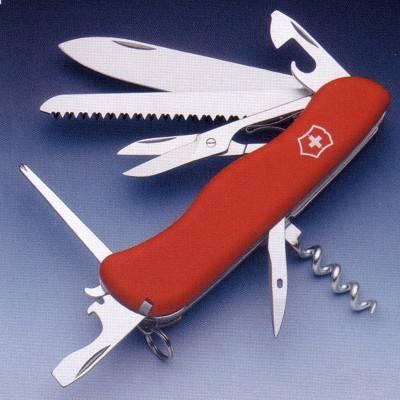Cuchillo de bolsillo Victorinox Outrider, navajas Suizas multiusos