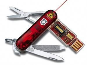 Navaja Victorinox con USB