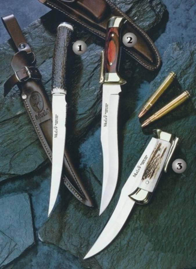 Cuchillos FP y PG muela