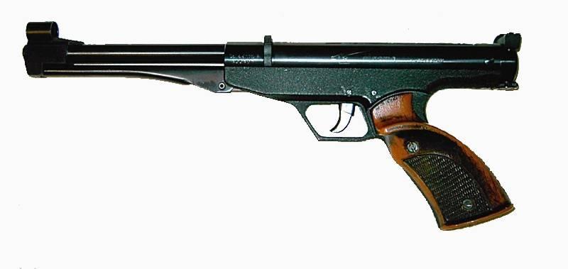 Pistola de aire comprimido Gamo Center.