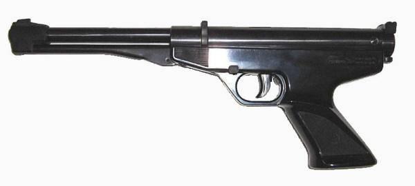 Pistola de aire comprimido Gamo Falcon.