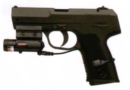 Pistola Gamo PX-107 de aire comprimido.