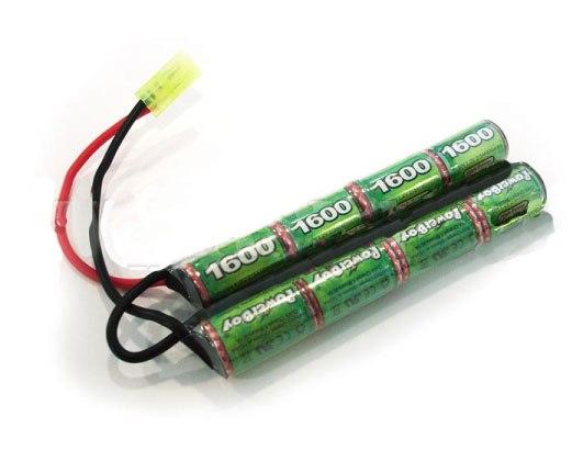 Cargador para baterías recargables para fusil de airsoft eléctrico