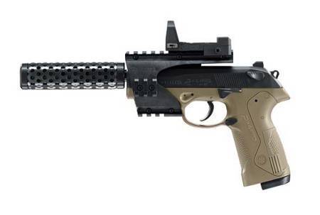 Pistola Beretta de Co2 modelo PX4 Storm Recon Deb