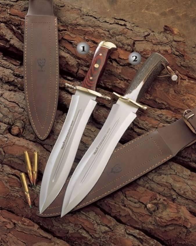Cuchillos podenqueros Muela fabricados en Ciudad Real