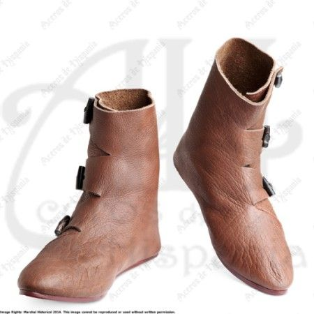 BOTA VIKINGA JORVIK PARA RECREACION MEDIEVAL MARSHALL HISTORICAL