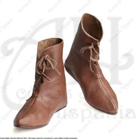 BOTA VIKINGA OSBERG PARA RECREACION MEDIEVAL MARSHALL HISTORICAL