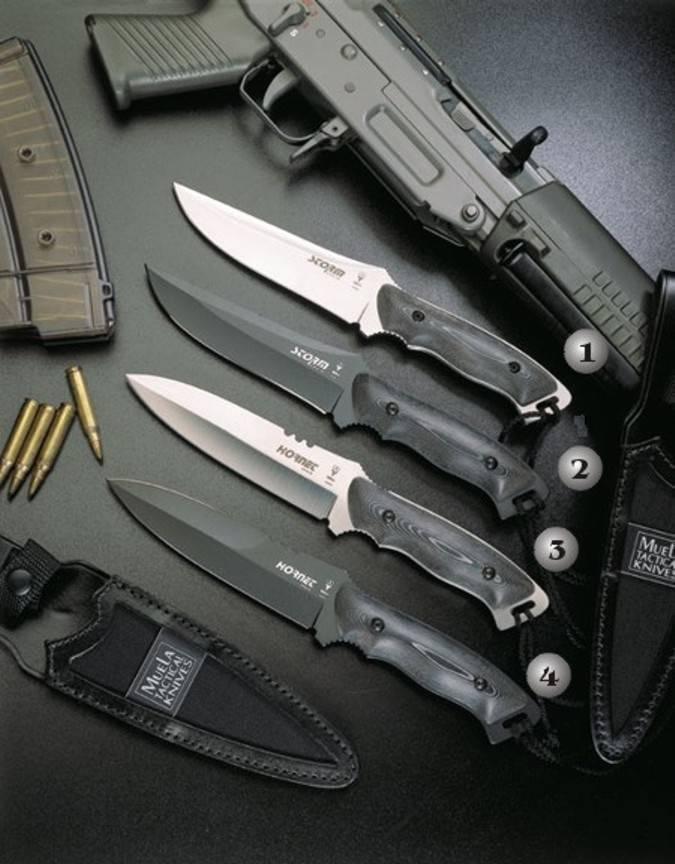 Cuchillos Muela Storm Y Hornet Cuchillos De Combate