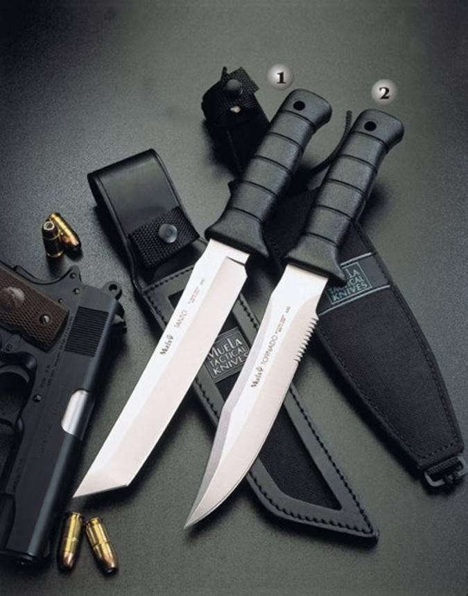 Cuchillos Tanto y tornado Muela