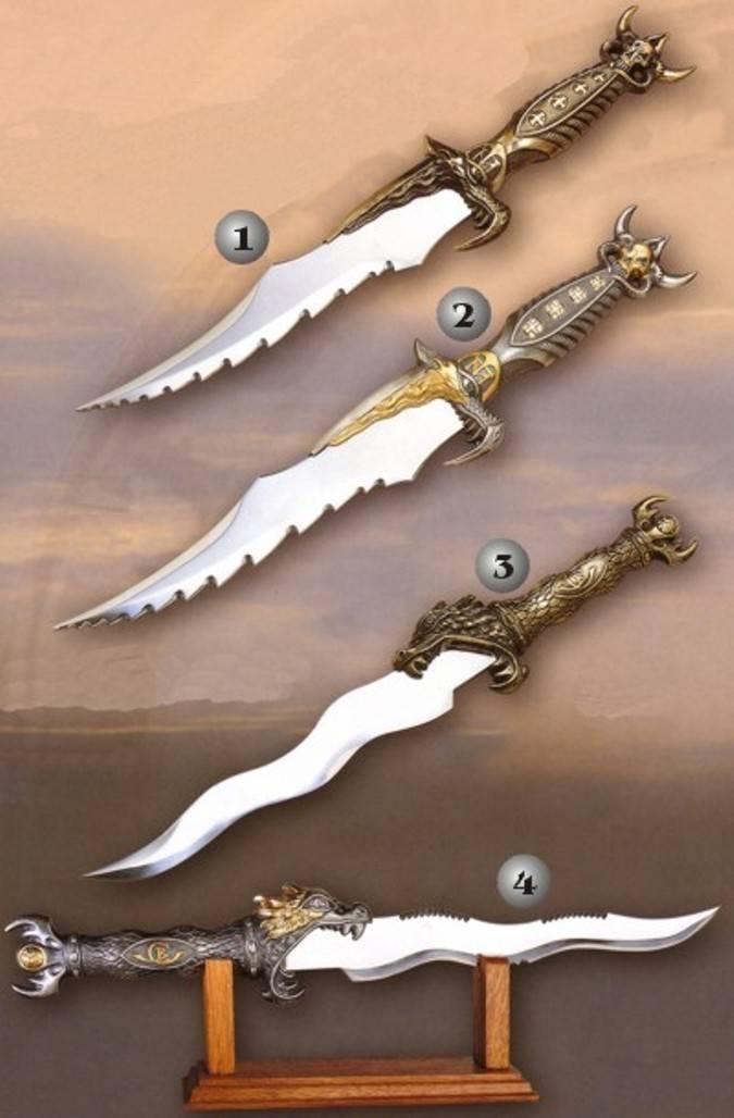 Velkan Black Dagas-espadas