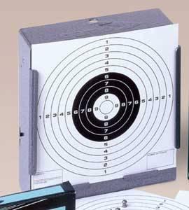 Tragabalines plano gamo. Para practicar el tiro con seguridad con carabinas o pistolas tanto en interiores como al aire libre