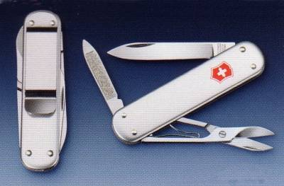 NAVAJA MULTIUSOS VICTORINOX MONEY CLIP