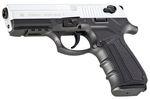 2918 Zoraki Matte Chrome Blank Pistol 9mm MEZ17