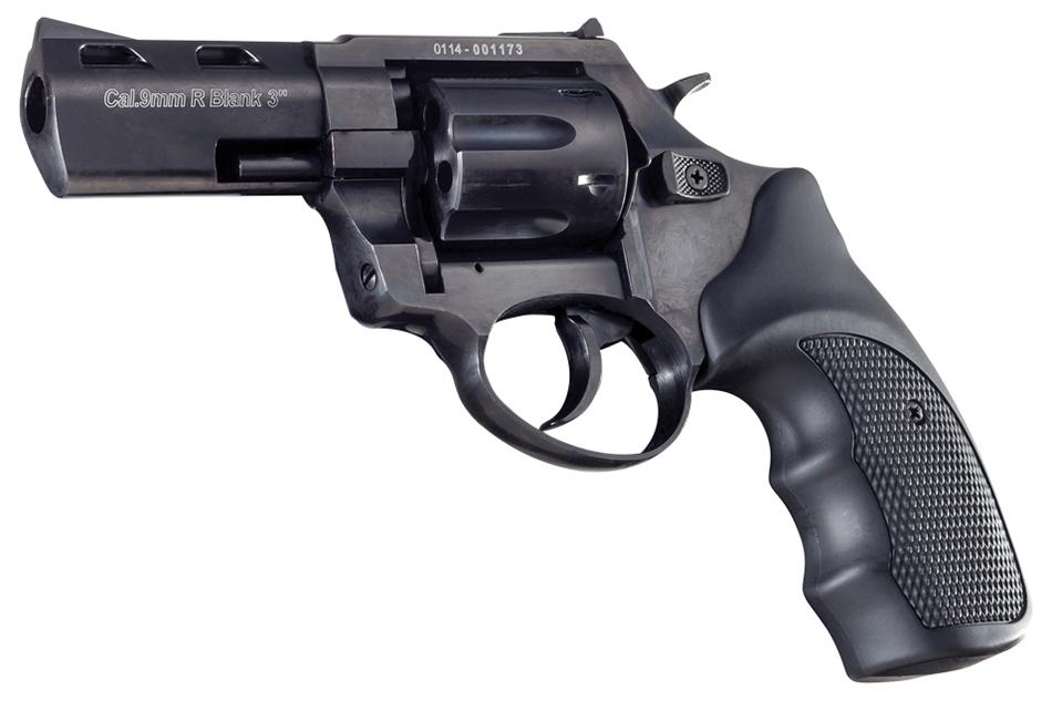R2 3 inch 380/9mm black Zoraki firing revolver MEZ24