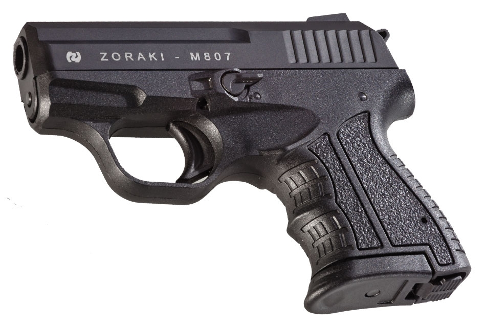 M807 Zoraki Black Blank Pistol 8mm MEZ13
