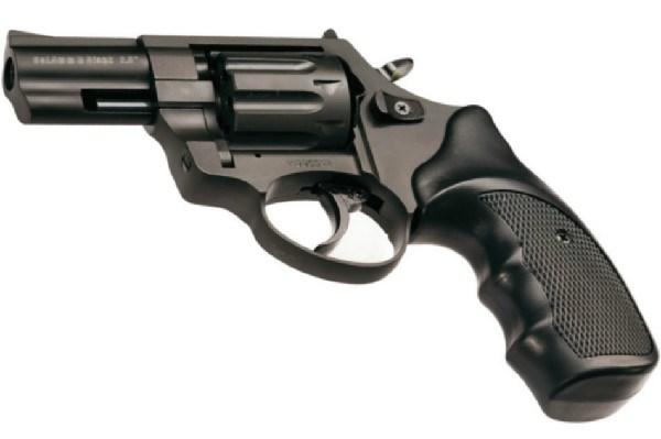 Revólver detonador Zoraki R2 2 pulgadas del calibre 380/9mm de color negro