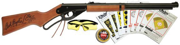 Carabina de aire comprimido Daisy Model 4938K Red Ryder Fun Kit infantil